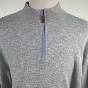 Tommy Bahama Mens Gray Cool Max Pullover XXL
